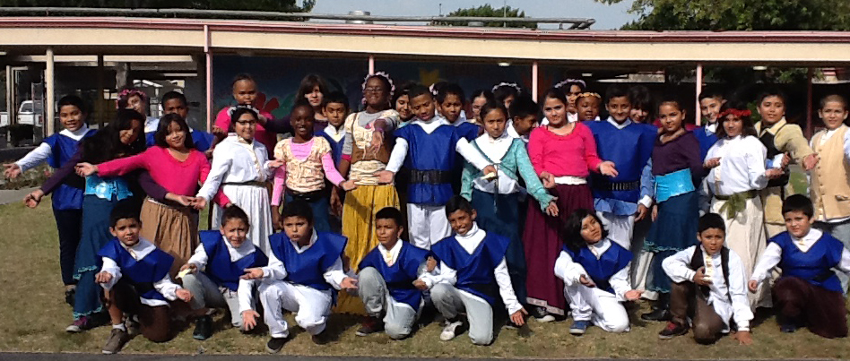 Cast of Shakespeare classroom project at 93rd Street Elementary School - Fall 2014   Performance scheduled for January 16 at 1pm